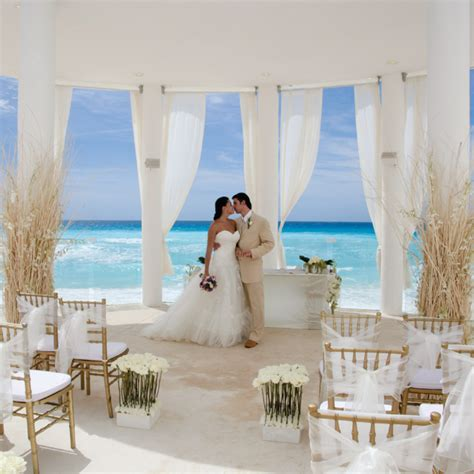 all inclusive destination wedding packages cancun le blanc spa resort wedding white gold