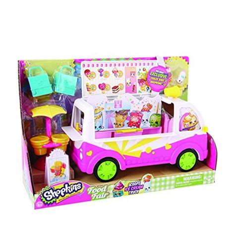 Exclusive Stiker Baby In Car Kualitas Import shopkins s3 scoops truck import it all