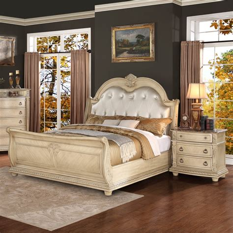 vintage bedroom furniture sets bedroom furniture white wood raya washed image rustic