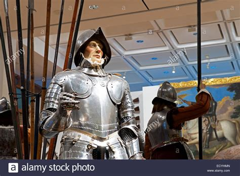 royal armories display inside the royal armouries museum leeds west