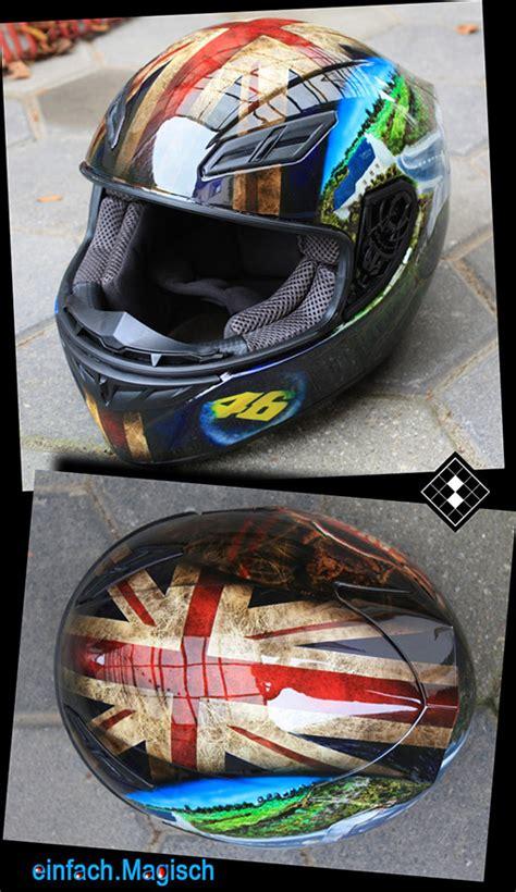 Motorradhelm Bemalen by Personenbezogene Helmdesigns Nrw Personalisierte