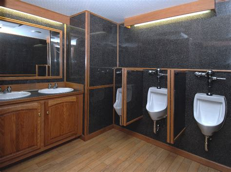 trailer bathroom restroom trailers for rent in va md dc blue ribbon