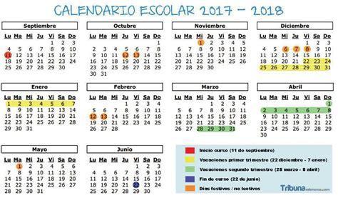 Calendario 2017 Fechas Festivas Vacaciones Festivos Y Todas Las Fechas Calendario