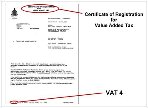 proactive 187 archive 187 vat certificate