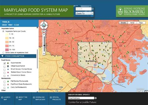 maryland food map maryland food map 28 images food st use in the