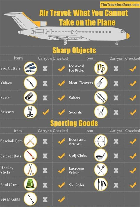 You Cant Connect Things To My Airplane banned things while travelling tourism infographic