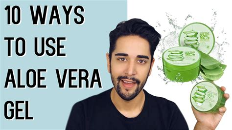 styling gel how to use 10 ways to use aloe vera gel nature republic grooming