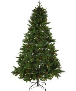 buy berry and cone christmas tree 7ft at argos co uk