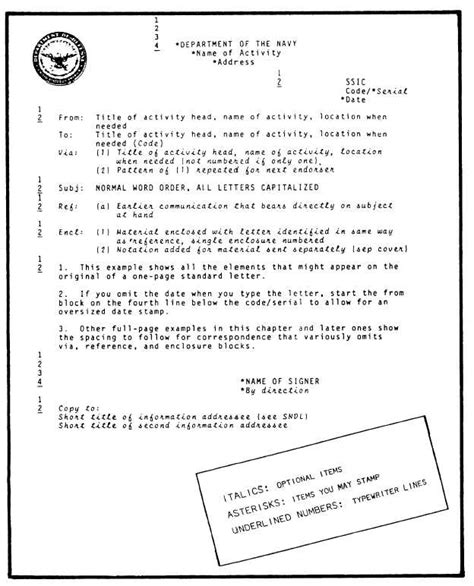 correspondence letter format figure 13 2 standard letter