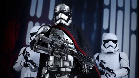 Shiny Review Starwars Does Skype by Toys Amazing Captain Phasma Figure Is Shiny And