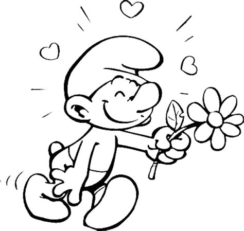The Coloring Pages the smurfs coloring pages coloringpages1001