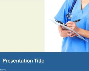 Ppt Themes Nursing | nurse powerpoint template