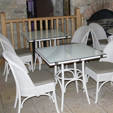 Lloyd Loom Bistro Table Bistro Table Square Lloyd Loom