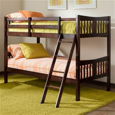 storkcraft caribou bunk bed storkcraft caribou bunk bed in espresso free shipping