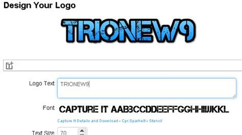 membuat tulisan dan gambar online cooltext membuat gambar tulisan keren secara online trionew9