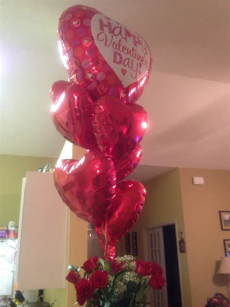 valentines flowers and balloons happy valentine s day ground to major