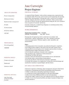 Project Engineer Resumes by Construction Resume Exle 9 Free Word Pdf Documents Free Premium Templates