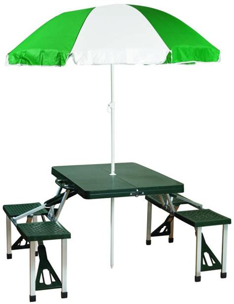 stansport heavy duty picnic table and bench set stansport picnic table and umbrella combo pack