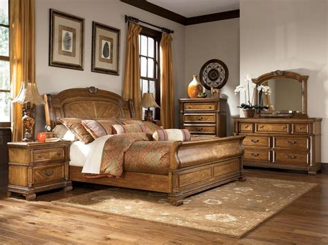ashley king bedroom sets ashley millennium quot clearwater quot b680 king sleigh bedroom
