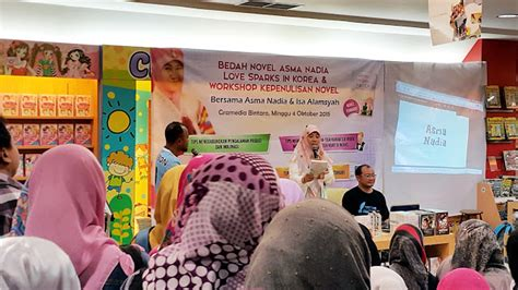Novel Spark Korean Asma mocha books review event bedah novel sparks in korea dan workshop kepenulisan novel