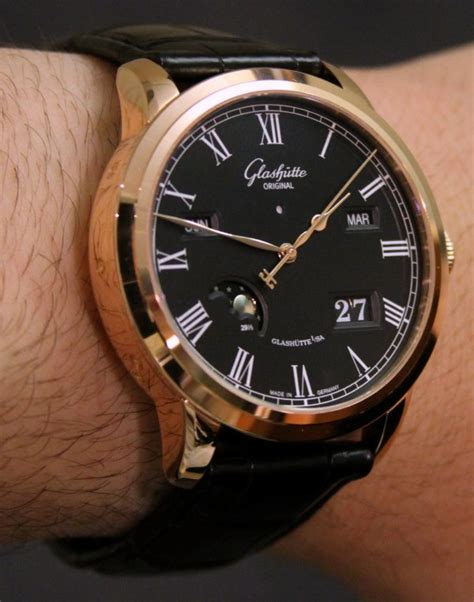 Glashutte Original Senator Perpetual Calendar Watch Hands