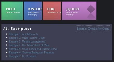 horizontal website tutorial jquery accordions javascript and web resources page 2
