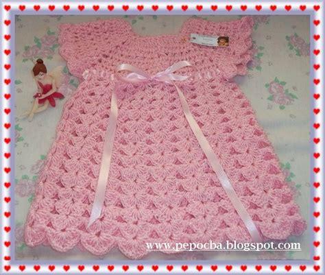vestidos para bebes de tejido pininos ropa para beb 201 s tejidos artesanales
