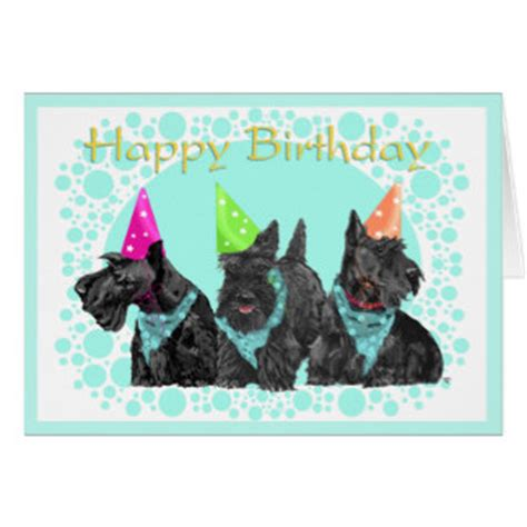 Scottie Cards - scottish terrier gifts t shirts posters other