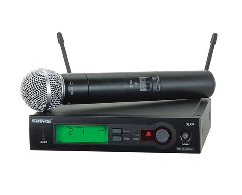 Shure Slx 24beta58 Wirelees Microfone displaying items by tag shure