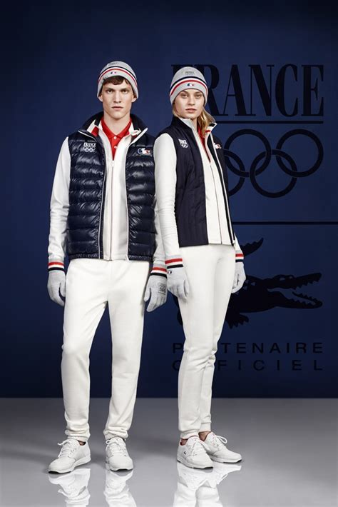 Team Wardrobe by Lacoste To Team In Next Olympics Pursuitist
