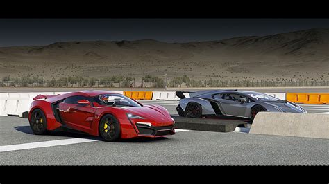lamborghini vs lykan hypersport vs lamborghini veneno drag race forza 6