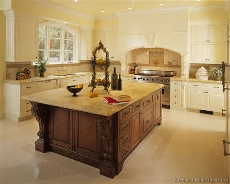 kitchen with island design ideas antique kitchens pictures and design ideas