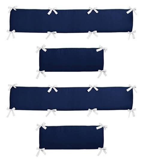 Gray Crib Bumper Pads by Navy Mint And Grey Woodsy Collection Baby Crib Bumper Pad