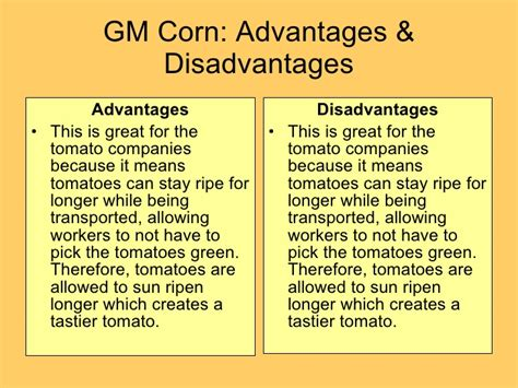 my realistic life the pros and cons of unemployment major genetically modified crops