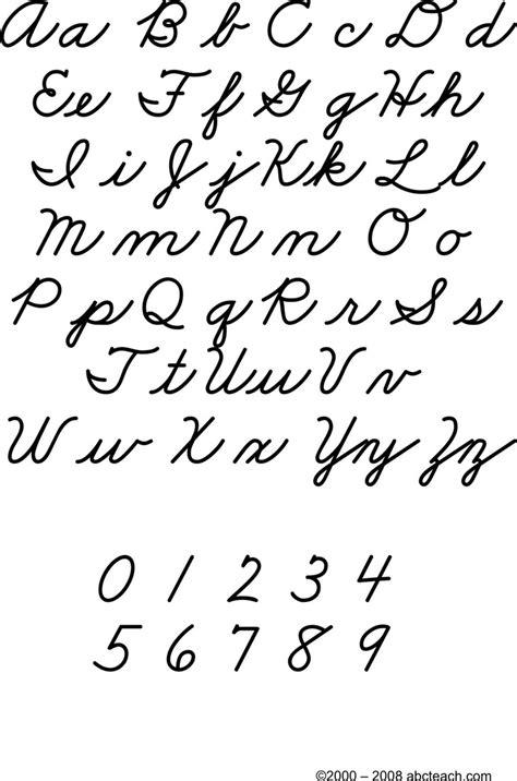 cursive letters chart cursive letters chart free premium templates