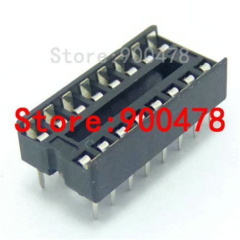 what is an integrated circuit socket 20pcs lot ic socket integrated circuit 16p dip16 pin socket 16p chip holder 2 54mm ic jpg