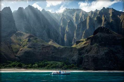 hanalei boat tours napali coast tours napali coast tour