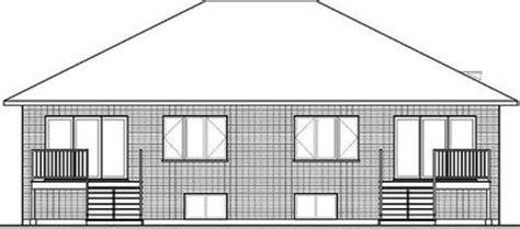 sleek modern multi family house plan 22330dr sleek modern multi family house plan 22330dr