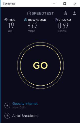 free speed test free speedtest app for windows 10