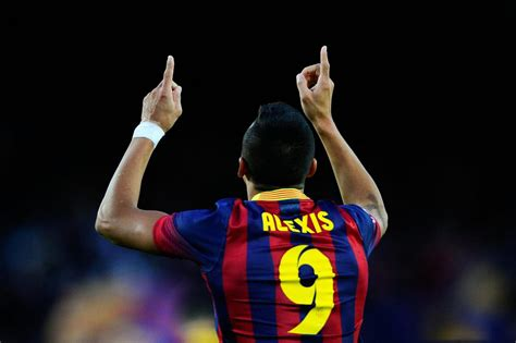 barcelona number barcelona 4 0 elche it s alexis s 225 nchez time to shine