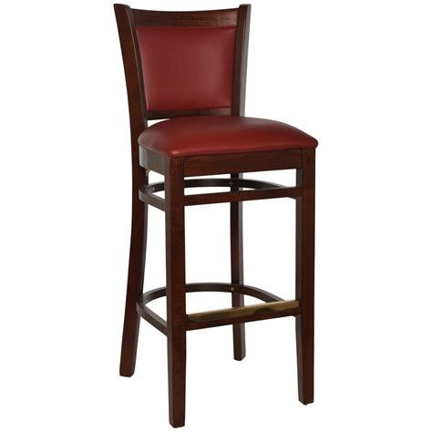 floating bar stools barstools wood floating slat back barstool