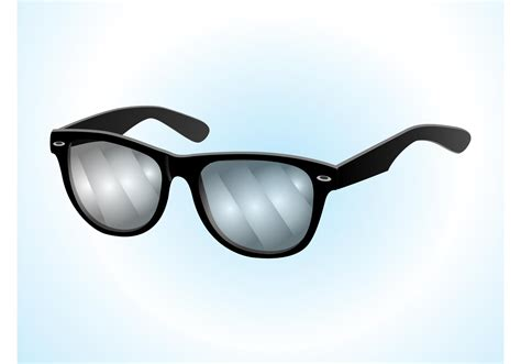 glasses vector ray ban sunglasses download free vector art stock