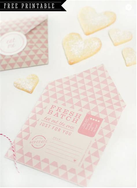 printable cookie envelope sleeve chang e 3 and ovens on pinterest