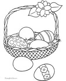 easter basket coloring pages easter coloring pages coloring pages to print