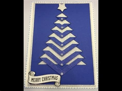 Christmas Tree Card Free Template Youtube Tree Template For Cards