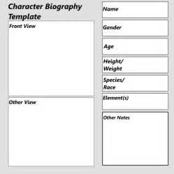 character biography template by sandstormer on deviantart