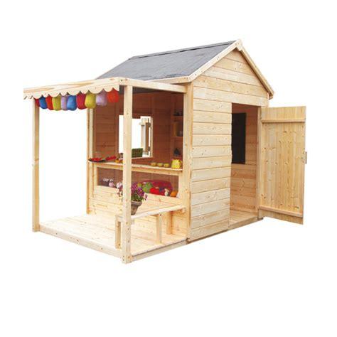 cabane jardin solde maisonnette en bois en solde