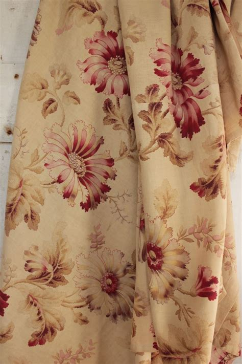 french fabric curtains antique french fabric belle epoque gorgeous floral panel