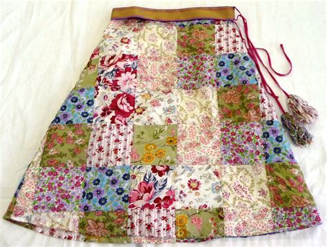 How To Make A Patchwork Skirt - collections quilt museum and gallery york