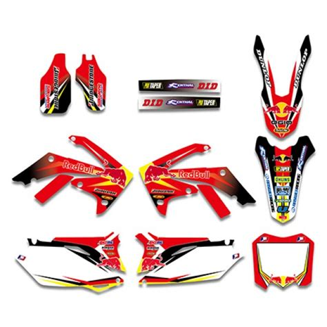 Honda Crf 250 R Aufkleber by Bull Graphics Decals Kit For Honda Crf250r Crf250 2010